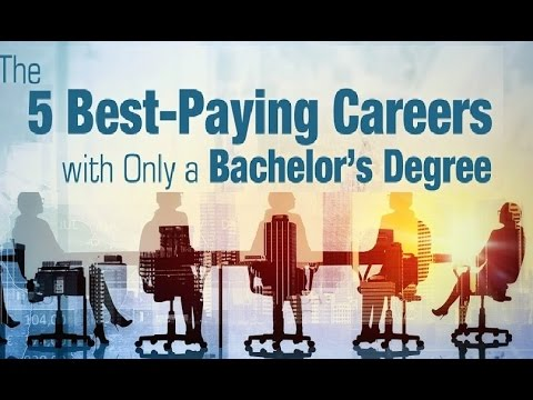 Highest paying jobs you can get with a Bachelor's degree