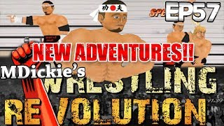 MDickie's Wrestling Revolution EP 57: The NEW Adventures of The Extreme Sumo!!