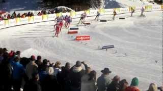 Marcus Hellner varvar på Tour de Ski - stage 4 - Cortina-Toblach - 35 km Pursuit @ Toblach