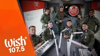 "Philippine Army Band performs ""Kabayanihan"" LIVE on Wish 107.5 Bus"