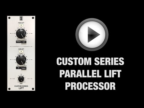 The Slate Digital PARALLEL LIFT: The Two Knob Mix Fixer!