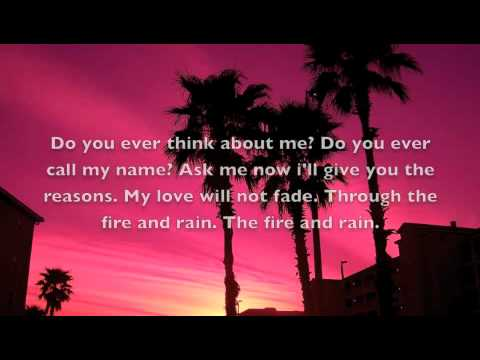 Fire and Rain by Mat Kearney lyrics