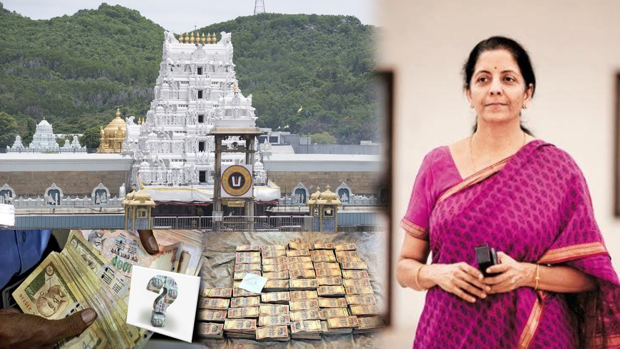 Request for exchange of Rs. 50 crore old notes accumulated in Tirupati Ezhumalayan Temple