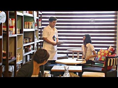 В кафе на Филиппинах на работу берут больных аутизмом (новости)