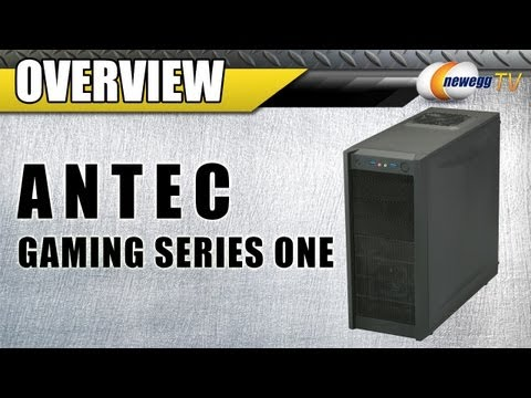 Newegg TV: Antec Gaming Series One Mid Tower Computer Case Overview