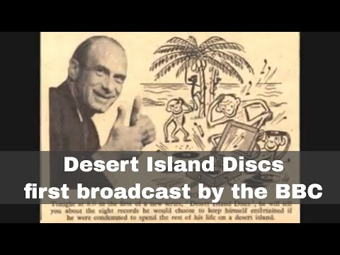 29th January 1942: Desert Island Discs first broadcast by the BBC
