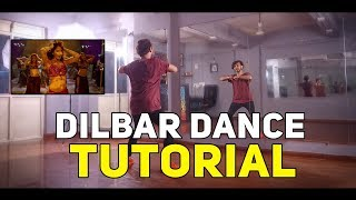 Dilbar Dance Tutorial | Step By Step | Vicky Patel Choreography | Bollyrical