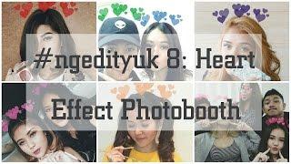 Cara Edit Foto Menambahkan Love di Kepala (Heart Effect Photobooth). Gampang Banget! (PicsArt)