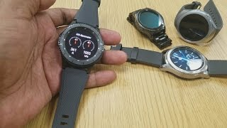 Gear S3 Frontier vs Gear S3 Classic - Hands On Visual Comparison