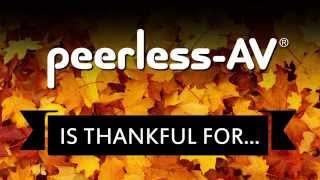 Peerless-AV Gives Thanks