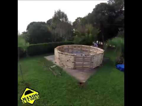 Construye tu propia piscina youtube for Zelf zwembad maken