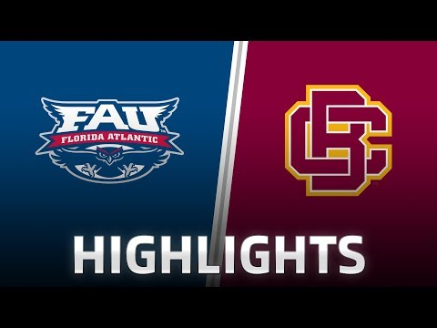 Highlights: Bethune-Cookman at Florida Atlantic