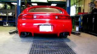 3000gt vr4 single turbo gt40r