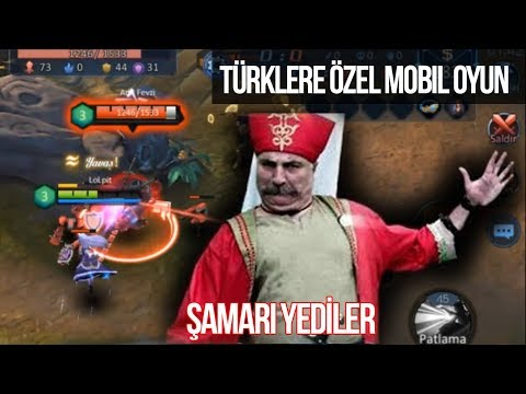 Bu oyunda CHALLANGER mıyım ne? Türklere özel moba Osmanlı'nın Onuru!