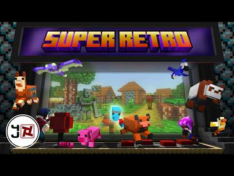 SUPER RETRO! Texture Pack - Out Now On Minecraft Marketplace.