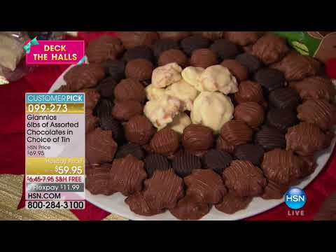 HSN | Holiday Treats featuring Giannios 11.07.2017 - 10 AM