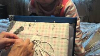 Плетение пояса в технике макраме урок 3