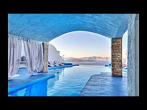 Designer Hotel in Santorini ist der ultimative romantische Rückzugsort