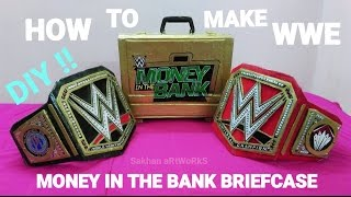 How To Make Wwe Money In The Bank Briefcase