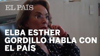 ELBA Esther GORDILLO habla con EL PAÍS