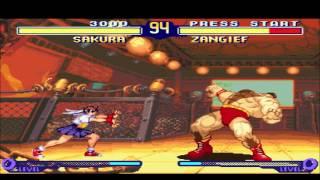 Street Fighter Alpha 2 SNES Man Review