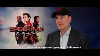 Yapımcı Kevin Feige'ten Örümcek-Adam. Evden Uzakta- 'Sonsuzluk Destanı'