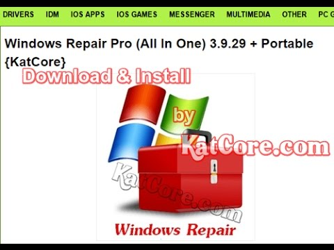 windows repair pro (all in one) 3.9.14 & portable + key