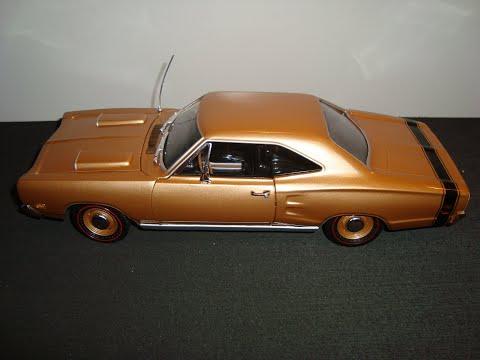 Dodge Coronet R/T Hemi 1969, escala 1:18 ERTL Auto World