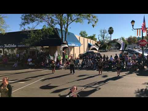 Hayward HS Band Foothill Band Review 2017