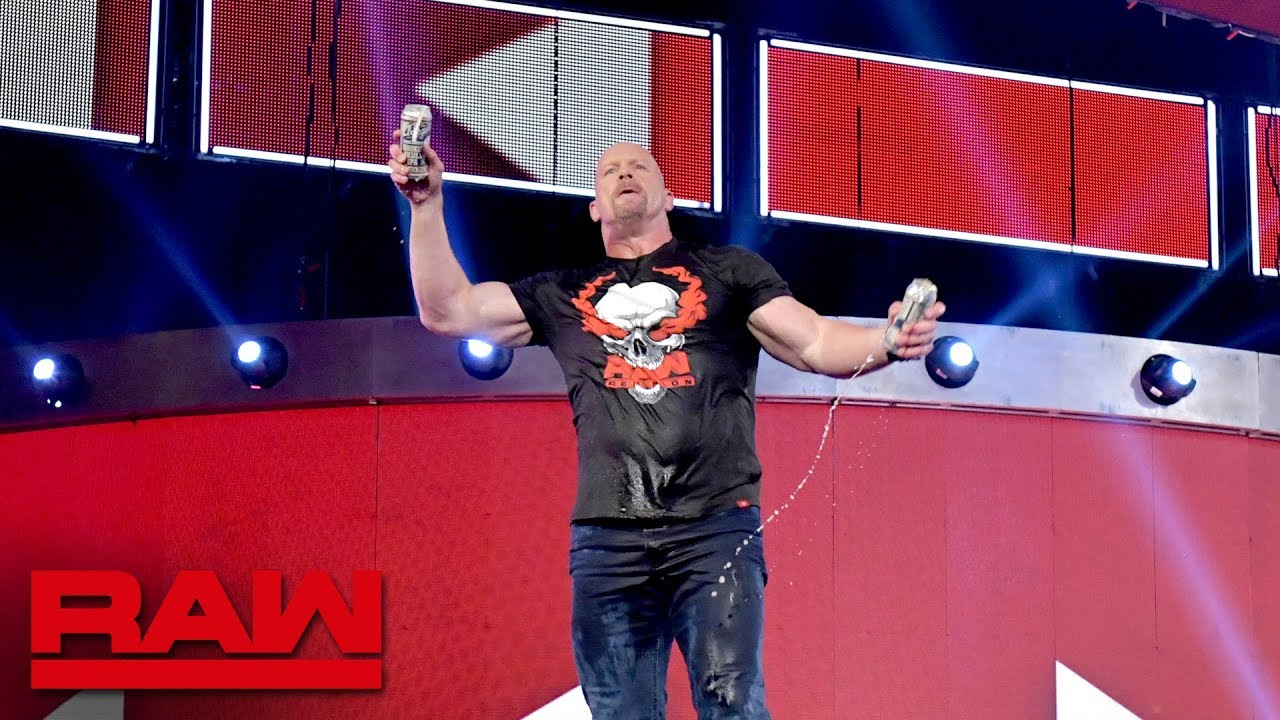 Steve Austin Continues Beer Bash After RAW, Says He'd Like