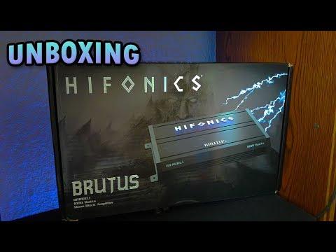 Amplificador Hifonics Brutus Br1000.1 Unboxing!