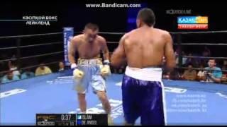 Канат Ислам - Хуан Де Анхель. 4-6 раунтд. TKO