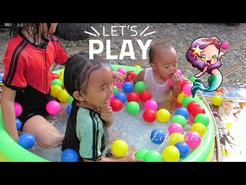 """Play & Learn """"The Ball Pit Show"""" for learning colors - Children's educational video @lifiatubehd"""