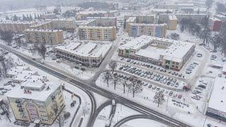 Zimowa aura w Ostrołęce