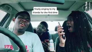 Singing In Front Oḟ Friends Compilation Priceless Reactions😍