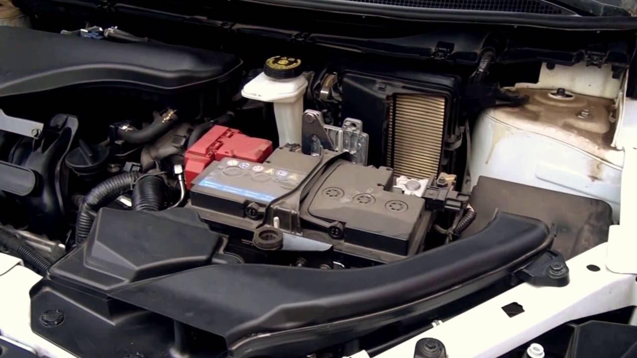 10 июн 2015. Установка аккумулятора на nissan qashqai 2,0 бензин. Установлено fiamm titanium plus 60ампер с правым плюсом: http://aet. Ua/car-batteries/ akkumulyator-fiamm-.