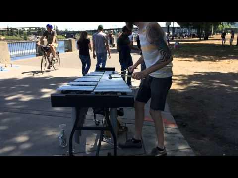 Saturday Market Xylophone (Creep By Radiohead)