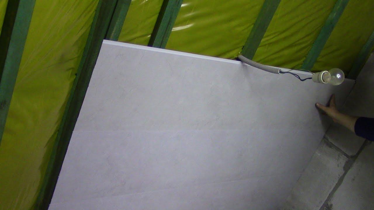 Jak montować panele do ściany lub sufitu
