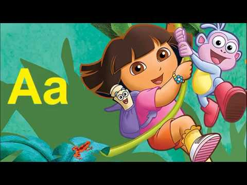 ABC Song.Dora the explorer. ABC Alphabet Songs. ABC Songs for Children. English Alphabet