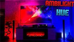 Die XXL TV-Wand ist Fertig 😍😱 PHILIPS HUE Unboxing + Installation fürs Haus !! Haus Vlog #18