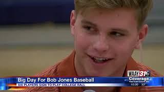 Bob Jones signing day for baseball
