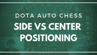 Why Side Positioning Counters the Center Formation