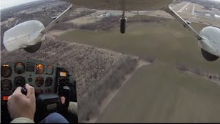 Cessna 172 Crosswind Landing with 21 Knot Wind Gusts