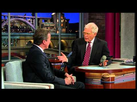 This Morning discussion about David Cameron's appearence on David Letterman - 27th Sept 2012