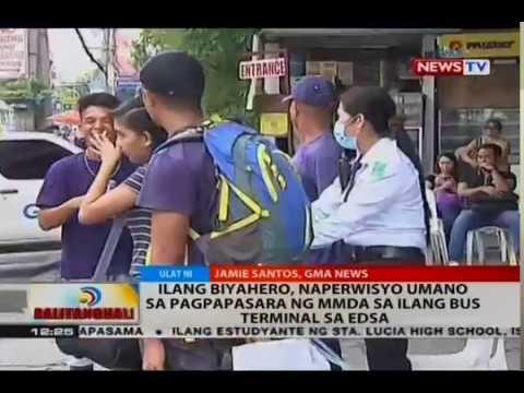 BT: Ilang biyahero, naperwisyo umano sa pagpapasara ng MMDA sa ilang bus terminal sa EDSA