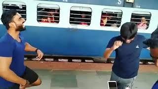 #rowdydance #maaristlye 😉😉 Aniket Bhulade and Rushikesh Mungse