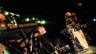 """Cibo Matto @ Brooklyn Bowl 3/8/14 - Cibo Matto performs """"Moonchild""""."""