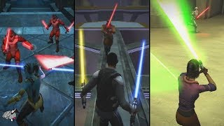 Did Jedi Academy Really Have the Best Lightsaber Combat Ever?