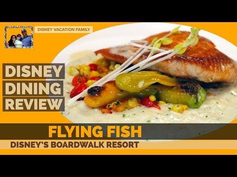 Disney's Flying Fish Restaurant | Boardwalk Dining WDW