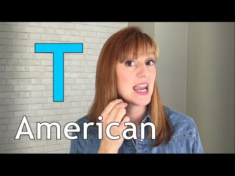 American Accent Training | American T | Flap T